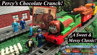 Thomas & Friends Trackmaster New Engine Story-Percy's Chocolate Crunch!