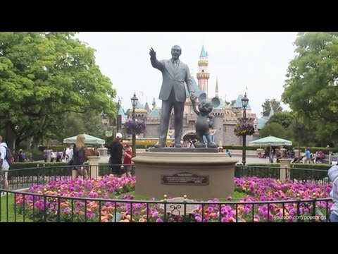 Disneyland Park Complete Walkthrough Anaheim, California HD