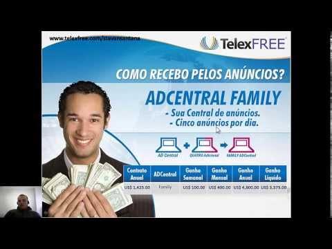 Telexfree - Ganho Individual, Ganho de Rede, Binarios Trinarios e 2%