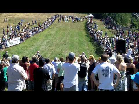 2010 Canadian Cheese Rolling Festival