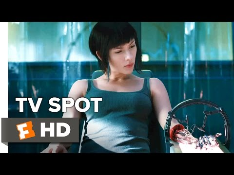 Ghost in the Shell TV SPOT - Sound (2017) - Scarlett Johansson Movie
