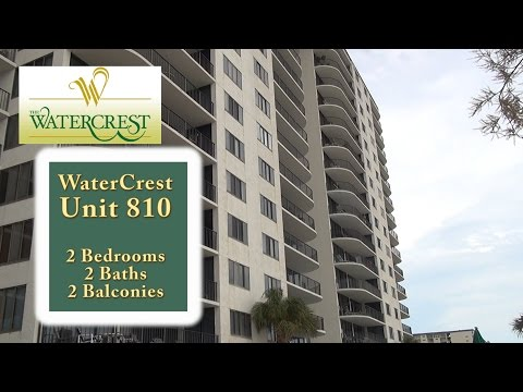 Unit 810 at the Watercrest Condos on Panama City Beach, FL