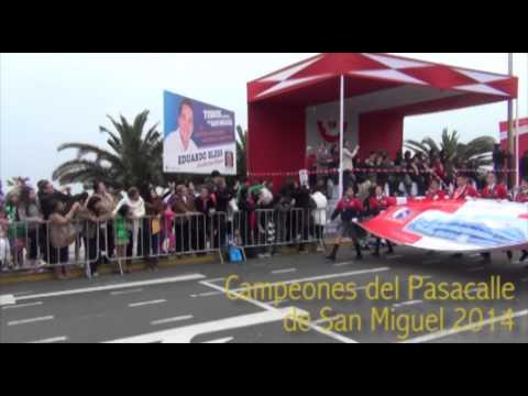 Campeones del Concurso de Pasacalle de San Miguel - 2014