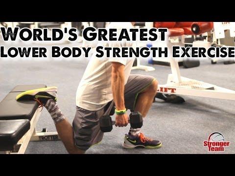 World's Greatest Lower Body Strength Exercise for Basketball: R.F.E.S.S.