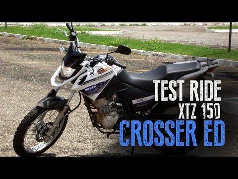 Test Ride   Yamaha Crosser XTZ 150 ED - Completo