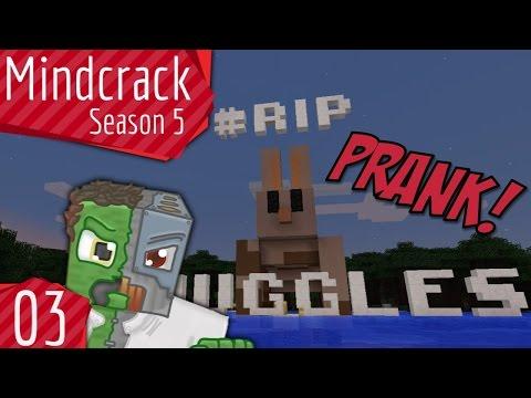 #RIPSnuggles Prank Mindcrack Server Season 5 Episode 3
