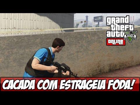 GTA V CAÇADA Estratégia ÉPICA Ps4