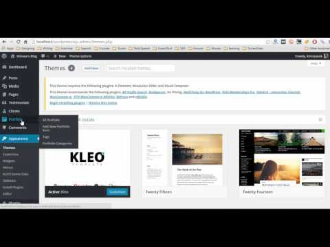 How to Install And Customize WordPress Home Page With KLEO Theme