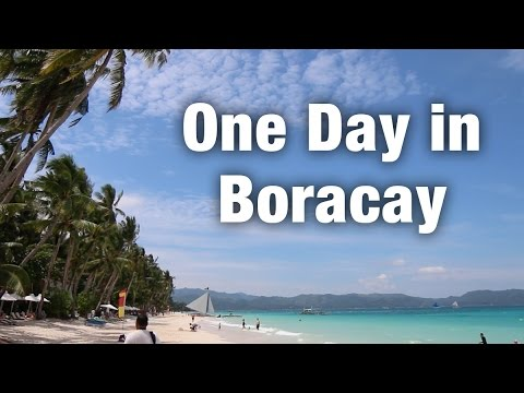 One Day in Boracay, Philippines