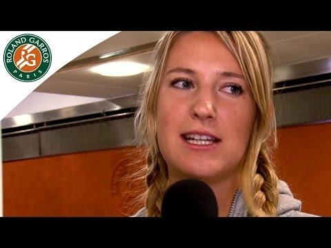 Truth or Dare with Victoria Azarenka at Roland Garros