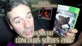 Résultat Concours Soldes 2016 & Heart Of Darkness (PS1 - FR)