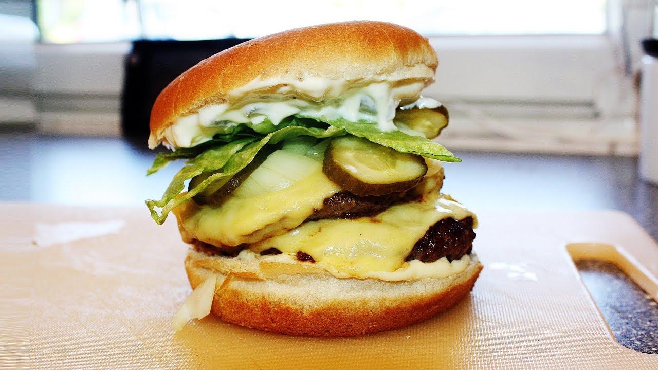 rezept big king burger selbstgemacht schnell einfach zu hause youtube. Black Bedroom Furniture Sets. Home Design Ideas