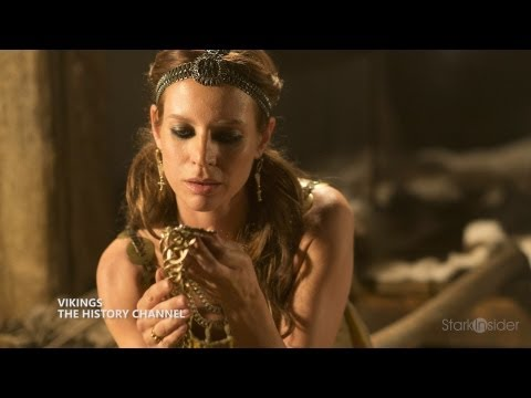 Vikings - Jessalyn Gilsig Interview
