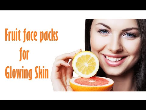 12 Types of Homemade Facial Fruit Packs for All Skin Types - By indus womenchannel