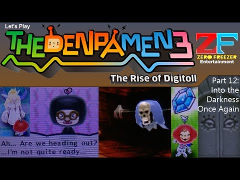 The Denpa Men 3 (3DS) Part 12: Into the Darkness Once Again [HD]