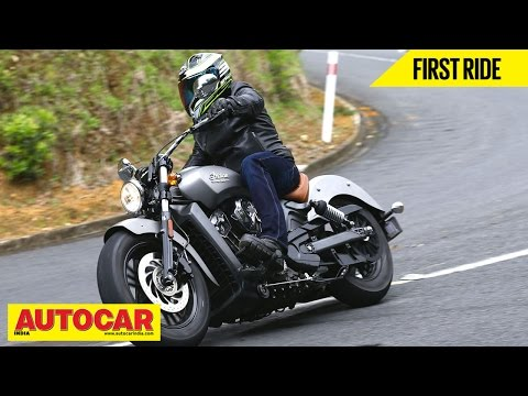 2014 Indian Scout | First Ride Video Review | Autocar India