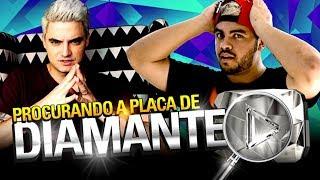 Download Lagu CAÇANDO A PLACA DE 10 MILHÕES DE INSCRITOS DO LUCCAS! Gratis STAFABAND