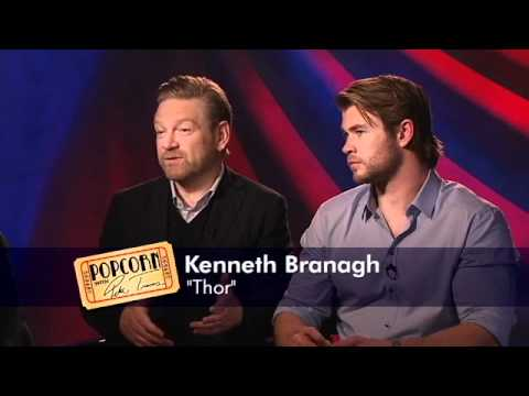 Thor, God Of Thunder, As Told By Chris Hemsworth And Kenneth Branagh