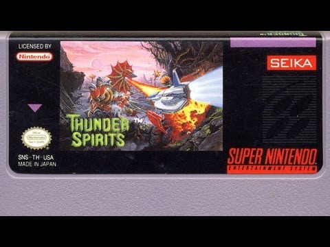 Classic Game Room - THUNDER SPIRITS review for Super Nintendo