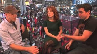 Chris Elliot and Maria Thayer Talk Eagleheart @ NYCC 2013 | Video