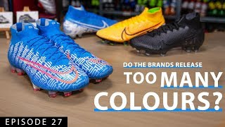 CR7 SHUAI - New Mercurial Superfly 7  DO THE BRANDS RELEASE TOO MANY COLOURS?