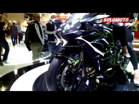 Salón Milán 2014: Kawasaki Ninja H2