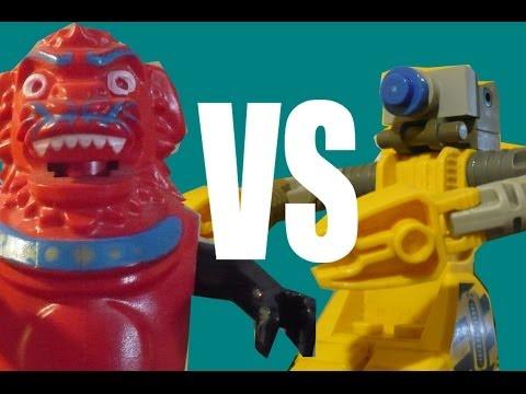 Ápolóbot vs Yeti (magyar lego film)