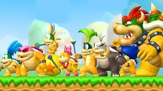 What happens when Mario fights all koopalings at once