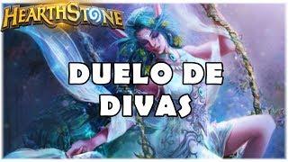 HEARTHSTONE - DUELO DE DIVAS!