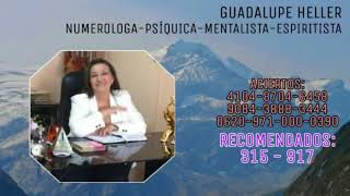 PROGRAMA LUNES 15 DE JULIO DE 2019 - GUADALUPE HELLER