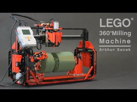 LEGO 360 Milling Machine