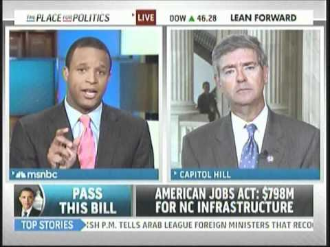 Rep. Brad Miller talks about the American Jobs Act