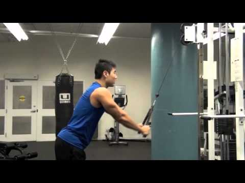 Straight Arm Pulldown Image 1