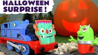 Funny Funlings Halloween Surprise with Thomas and Friends Trains and Rascal Funling TT4U
