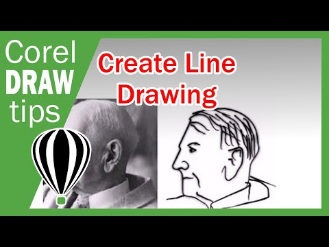 Line Drawing in CorelDraw