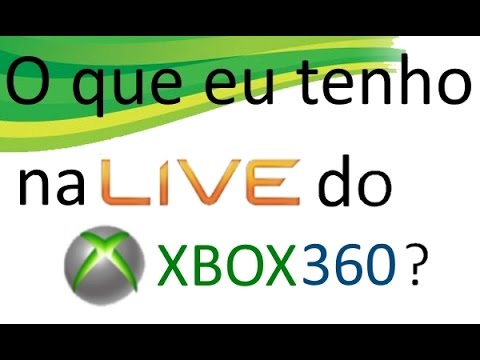 Como consultar o que tenho no Xbox 360