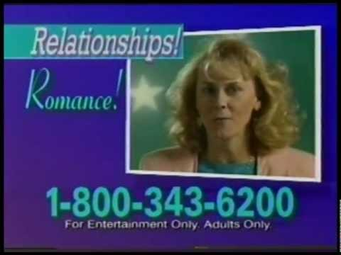 The Original Psychic Hotline  - Tv Commercial 1992 video