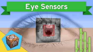 EYE SENSORS in Vanilla Minecraft 1.9 | Eye Sensors Command Block Creation