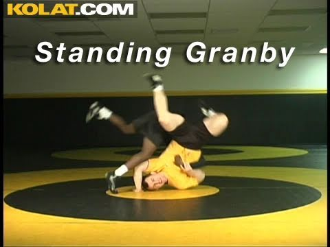 Granby to Peterson KOLAT.COM Wrestling Moves Techniques Instruction Image 1