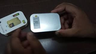 Smallest mobile phone in the world( KECHAODA A26)the king of music
