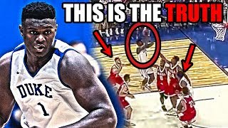 NOBODY Is Noticing THIS About Zion Williamson And His NBA Potential (Ft. A Lot Of Dunks)
