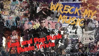 Ep 36: Emo and Pop Punk Music Trivia (Wreck My Music)