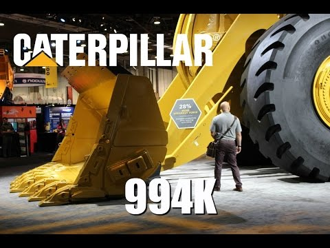 Caterpillar's biggest wheel loader - The statistics behind the size.