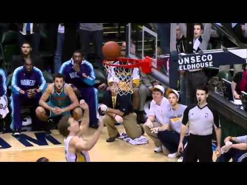 Mike Dunleavy game winning tip vs Hornets (Dec. 20, 2010)