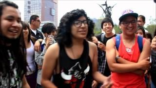 Freestyle en Bellas Artes. Pime, Norman, Mick y Topis