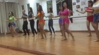 I wanna dance - Ms. Van' Class - Belly dance (múa bụng) Baladi Studio Hà Nội