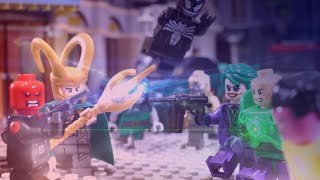 Lego Marvel vs DC Villains