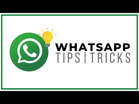 Whatsapp Tips and Tricks For Android Phones and iPhones. Making Your Life Easier 1 Video at a time.