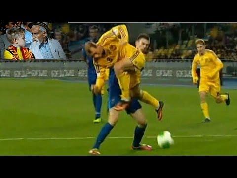 Футбол .Украина-Франция .Хоттабыч.