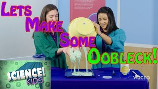 Oobleck Slime   SCIENCE Kids!